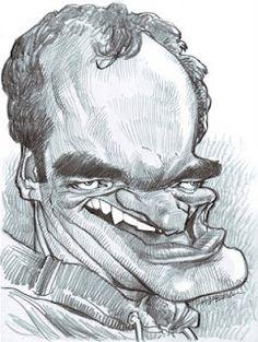 Artist:Jan Op De Beeck   Caricature:QuentinTarantino