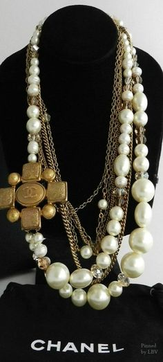 Chanel Pearls | necklace