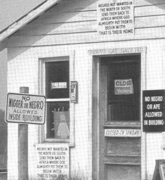 Segregated service station, date and place unknown.