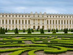 *Palace and Park at Versailles*  The Versailles gardens took 40 years to complete; Louis XIV valued them as much as the palace.