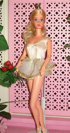 1975 Ballerina Barbie - One of my Faves! 1975 ballerina, ballerina barbi, memori, vintag barbi, barbi vintag, barbi doll, childhood, barbien danceballetmus, barbie ballerina