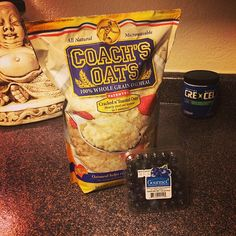 """""""You haven't had oatmeal until you've had Coach's Oats."""" Thank you for your testimony @upton13"""
