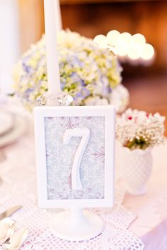 another table number idea!