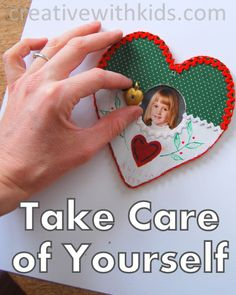How to Start the Habit of Taking Care of Yourself.  Be Kind to Yourself Challenge for Moms.