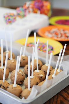 Cookie Dough Pops