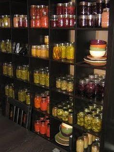 food storage 'decor'
