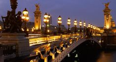 Pont Alexandre III: What is the most absolute beautiful bridge in Paris, reigns its title from Tsar Alexander III as a peace contract between Russia and France.