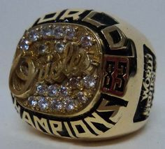 1983 Baltimore Orioles Ring