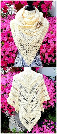 Pure Innocence Shawl Crochet Tutorial