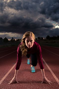 track and field Nike poster senior portrait picture sports clouds the classical academy TCA Colorado springs