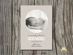 birth announcement #birth #announcement #photo #newborn