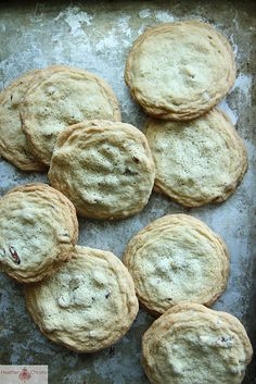 Bourbon, Bacon and Pecan Cookies by Heather Christo