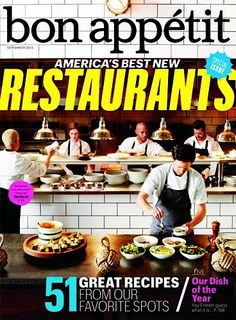 Bon Appetit Magazine: As low as $4.65 per year! {get up to 3 years at the sale price!}