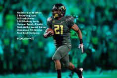 Oregon Football - Signing Day Graphic illustrating how D'Anthony Thomas was underrated coming out of HS