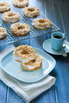 "#Gluten & #SugarFree ""Cereal & Milk"" Donuts"