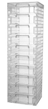 Amazon.com: Acrylic Organizer Tower with 10 Drawers: Home & Kitchen