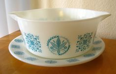 Turquoise Hex 475 with Underplate by hotforpyrex, via Flickr