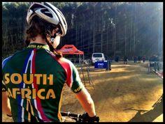 2013 UCI Mountain Biking World Championships in Kwa-Zulu Natal South Africa wearing Velotex