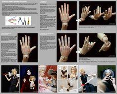 clay, bjd, tutorials, hands tutorial, scargeear