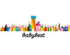 Baby Best brand identity design. What is adorable is how they can take this and break it up into many different components for badges and a number of other things. I have to admit I like colorful logos