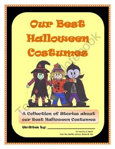 Recount Writing - Our Best Halloween Costumes ! Enter for your chance to win 1 of 7.  Recount Writing - Our Best Halloween Costumes (7 pages) from Mrs. Naufal's Nook on TeachersNotebook.com (Ends on on 10-26-2014)  Have your students create a fun class book describing their best Halloween costumes.  A cover and templates are included to assist even your most struggling writers. This makes a great home-school connection.