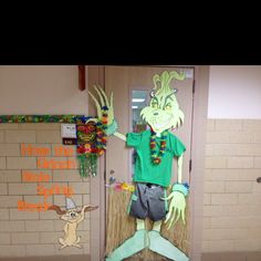 How the Grinch Stole Spring Break!  Cute!