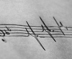 heartbeat tattoos   HelLHounDsix (hellhoundsix) on We Heart It