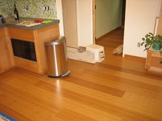 bamboo flooring - great color