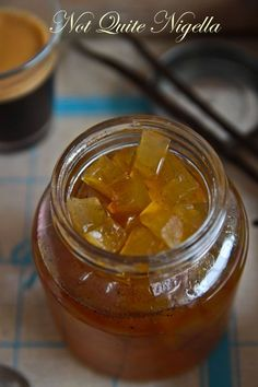 watermelon rind jam - looks more like a chutney to me