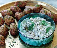 Lightened-Up Delivery Favorites: Minty Meatballs The Skinny: 231 calories per 3 meatballs, 14 g fat (5 g saturated), 7 g carbs, 1 g fiber, 18 g protein #SELFmagazine