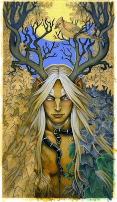 Druids Trees:  The #Stag Lord.