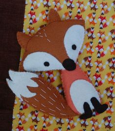 DIY Stuffed Fox Softie - FREE Sewing Pattern and Tutorial