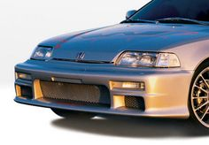 1988-1991 Honda Civic Wings West Racing Series Body Kit - Urethane Front Bumper