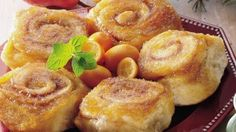 Overnight Caramel-Apple Rolls - Holidays. Made these for Christmas breakfast, really good.