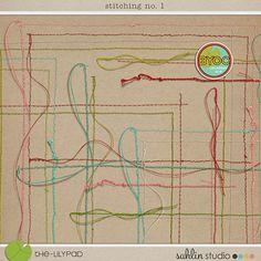 stitching no. 1 by Sahlin Studio