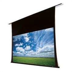 """102279Q Access/Series V Motorized Front Projection Screen - 47 x 87"""" by Draper. $1897.99. 102279Q Features: -Now available in 16:10 and 15:9 laptop presentation formats.-Install an Access case first and the screen later..-Motor-in-roller operation..-12'' extra drop is standard.-Warranted for one year against defects in materials and workmanship.. Options: -Depending on surface, available in sizes through 12' x 12' and 200'' NTSC..-Custom sizes available.."""