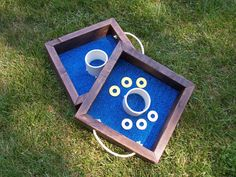 Washer Toss Game by LightFilled on Etsy, $50.00