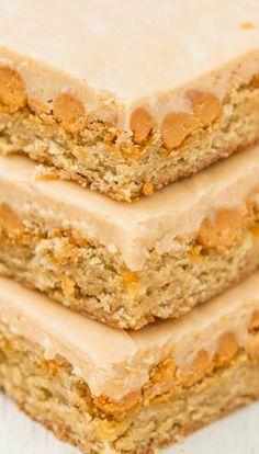 Peanut Butter Butterscotch Bars