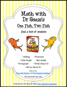 Fish Math with Dr. Seuss