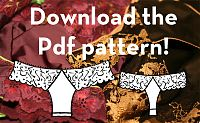 free lace thong patterns, cloth, fav diy, panti pattern, diy idea