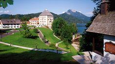 """Austria�s <a href=""""http://www.schlossfuschlsalzburg.com/"""" target=""""_blank"""">Schloss Fuschl Resort"""