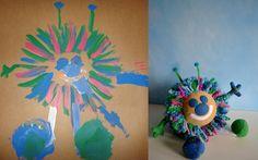 Il mostro di Kaylee è un pupazzo ricavato dal disegno di un bambino. Questi e altri pupazzi progettati a partire da un disegno sono illustrati su www.dailykid.it