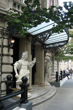 Benjamin N. and Sarah Duke Mansion entrance