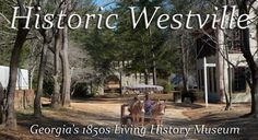 We invite you to take a virtual tour of Historic Westville!    Click on a house to find out more information about the buildings of  Historic Westville!