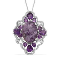 amethyst stone, jeweri ring, vintag jewelri, sterling silver