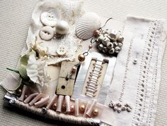 shells - mix with other textural items