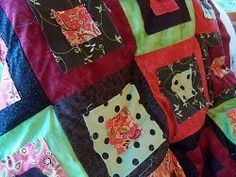 How to Tie a #Quilt by Machine #tutorial by Leila from Sewn