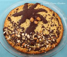 gluten free almond joy cake