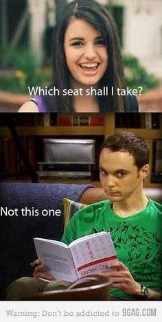 Sheldon Cooper. (: