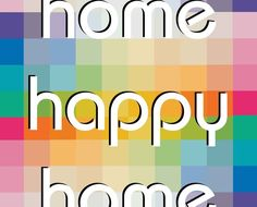 happi, poster, happy home, homes, design